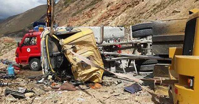 Ovit Tüneli şantiyesinde kaza: 1 ölü