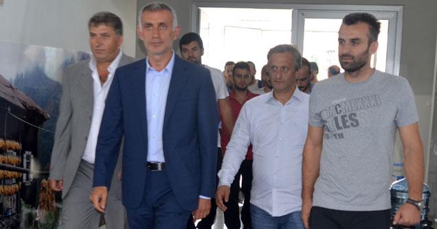 Hacıosmanoğlu, Ardeşen GSK'yı ziyaret etti