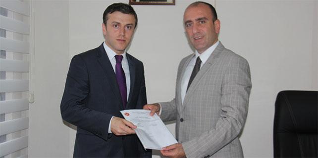 MHP Rize Merkez İlçe'ye yeni başkan
