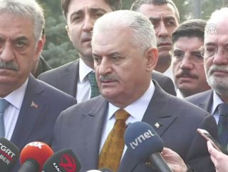 Başbakan Binali Yıldırım AK Parti MYK öncesi konuştu