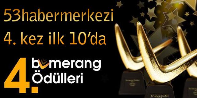 4. kez Türkiye'nin En İyi İlk 10 Yerel Sitesinden biri oldu