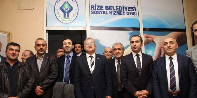 Rize Belediyesi Sosyal Hizmet Ofisi açtı