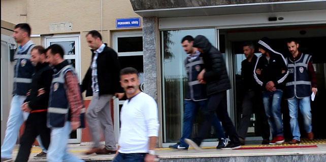 Rize'de inşaat hırsızları yakalandı