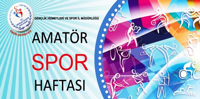 Rize'de Amatör Spor Haftası için Futbol Turnuvası