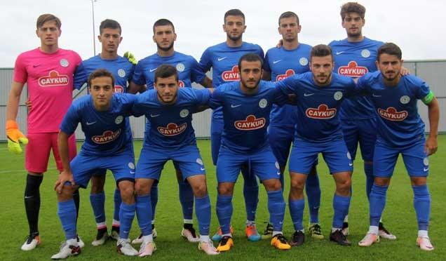 Çaykur Rizespor U21, Trabzon'a 6-0 yenildi