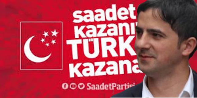Rize Saadet Partisi'nde şok istifa