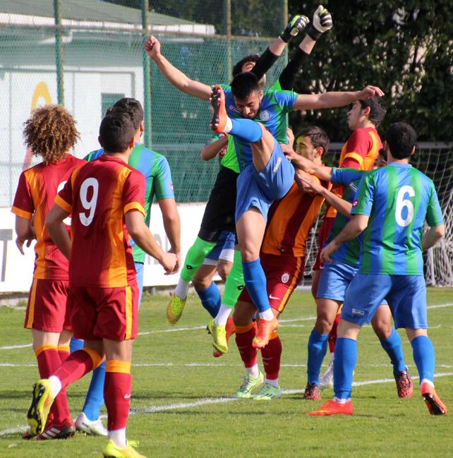 Galatasaray U21 - Çaykur Rizespor U21 maçı / Foto Galeri