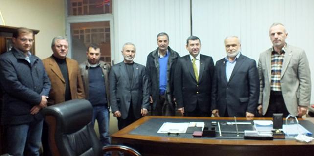Kazmaz'dan Rize Saadet ve Müftü Doğan'a ziyaret