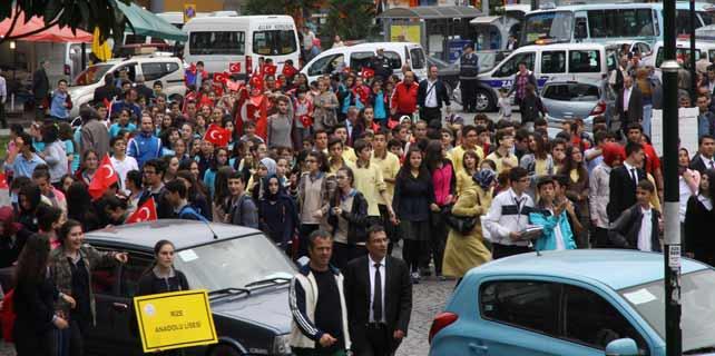 Rize'de Cumhuriyet Bayramı Kutlamaları başladı
