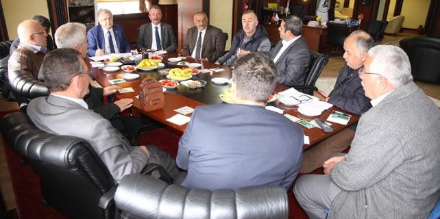 Kasap'ın Muhtar Toplantıları devam ediyor
