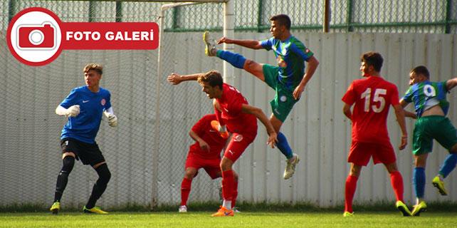 Çaykur Rizespor U21: 1 - Antalyaspor U21: 0