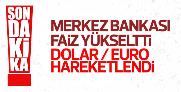 Merkez Bankası'nın faiz kararı