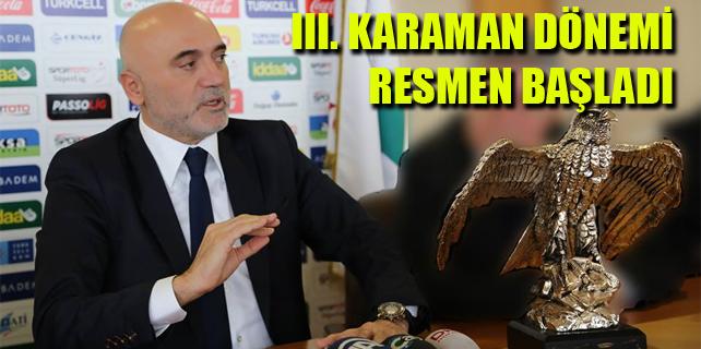 Hikmet Karaman, Rizespor'a imzayı attı
