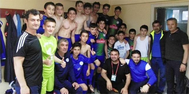 Çaykur Rizespor U13, Rize Şampiyonu