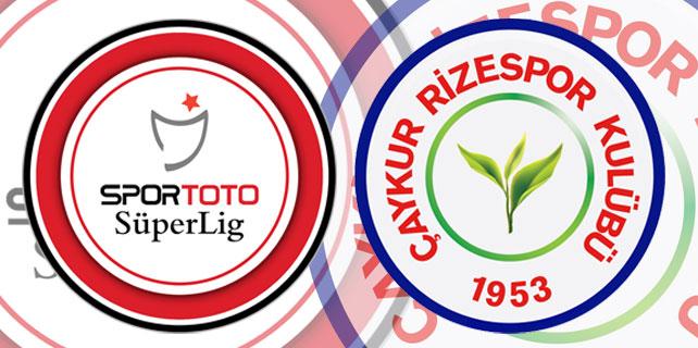 Çaykur Rizespor Süper Lig'de 547. maçına çıkıyor