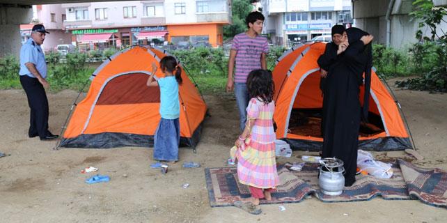 Rize'deki Suriyeliler ikinci kez toplandı