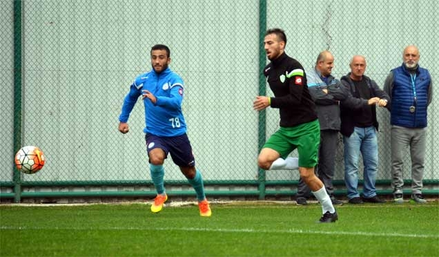 Çayelispor ile Çaykur Rizespor U21 hazırlandı