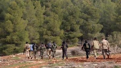 Afrin'de Uverkan köyü teröristlerden temizlendi