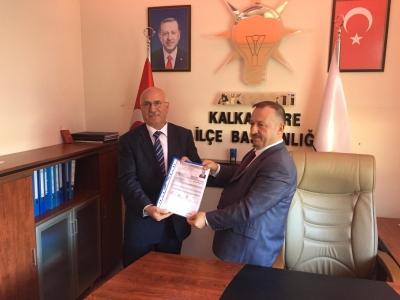 Ak Parti Kalkandere Belediye Başkan Aday Adayı Mehmet Özdemir:Amacım İlçeme Hizmet Etmek Dedi