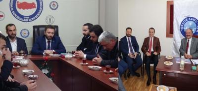 AK Parti Rize İl Başkanı Avcı'dan Memur Sendikalarına Ziyaret