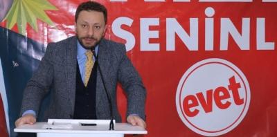 Ak Parti Rize İl Başkanlığında Halkla İlişkiler Başkan Yardımcısı Değişti