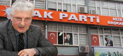 AK Parti Rize İl Başkanlığına Ali Haydar Er Vekaleten Atandı