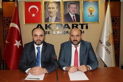 AK Parti Rize'de SKM Çalışmaları Başladı