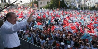 AK Parti'nin ilk mitingi Erzurum'da