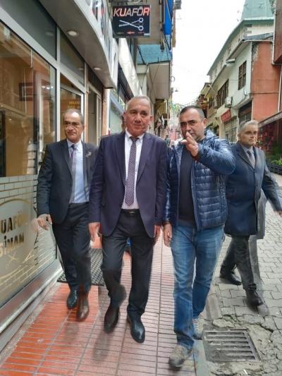 Akyüz Rize'de Seçim Ziyaretlerinde