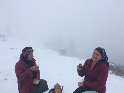 Alçaklarda Yağmur Yükseklerde Kar