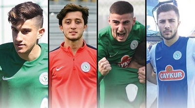 Altyapıdan 4 futbolcu kampa katılıyor