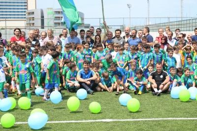 Anne - Baba Haydi Futbola Projesi Başladı