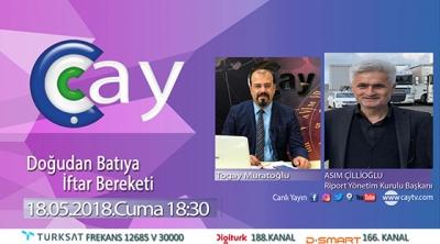 Asım Çillioğlu Çay Tv Canlı Yayın Konuğu Olacak