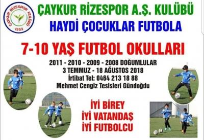 Atmaca Futbol Okulu Açıyor