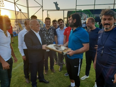 Atmacanın  Kampını Mehmet Sekmen Ziyaret Etti