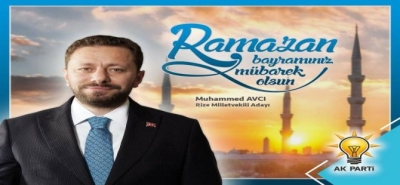 Avcı'dan Ramazan Bayramı Mesajı