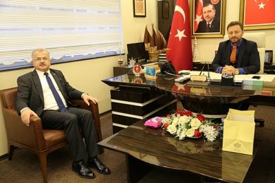 Avcı'ya Belediye Başkanı Kasap'dan Hayırlı Olsun Ziyareti