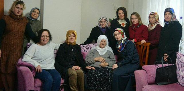 Ak Kadınlar Şehit ve Gazi ailelerini ziyaret etti