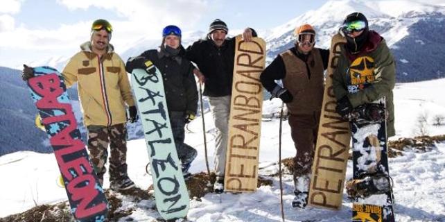 Milli Snowboardcuların Petranboard ile sınavı