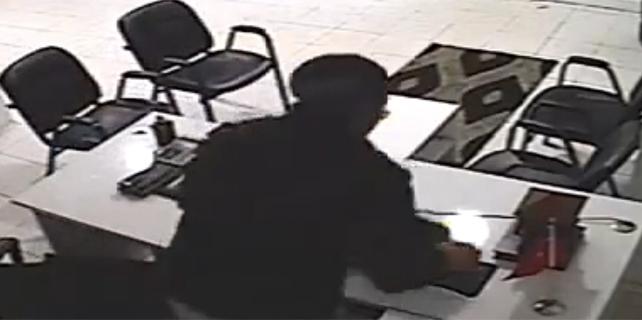 İşyerine giren hırsız laptop çaldı