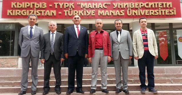RTEÜ ile Manas, Akademik İşbirliği imzaladı