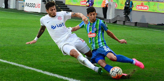 Çaykur Rizespor'dan Antalya'ya gol yağmuru