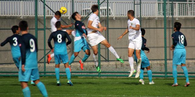 Rizespor U21, bir eksiği değerlendiremedi