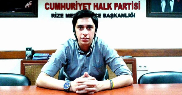 CHP Gençlik Kolları Rize İl Başkanı'ndan Kobane açıklaması
