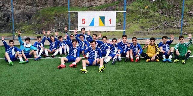 Rize Belediyespor U14, Bölge Şampiyonu oldu