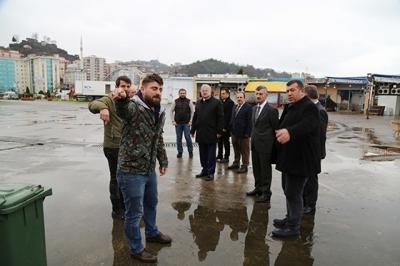Balıkçlar Bektaş ve Kasap'a Sorunlarını Aktardı
