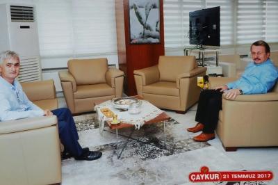 Başkan Adayı Çilioğlu Ziyaretlerini Sürdürüyor