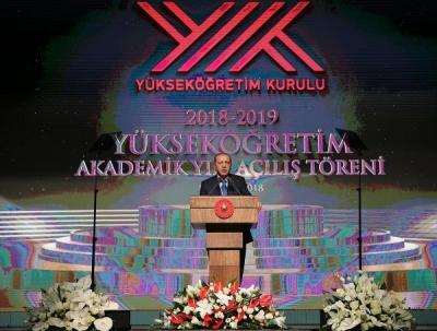Başkan Erdoğan eğitimde hedefleri açıkladı
