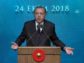 Başkan Erdoğan'dan danıştay toplantısında ant sorusu