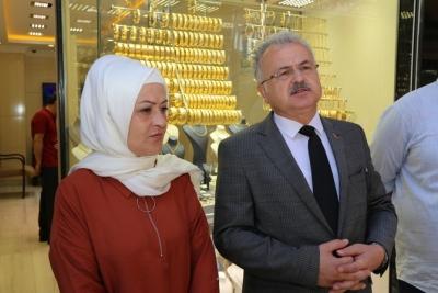 """Başkan Kasap, Cumhurbaşkanı Erdoğan'ın """"Altın ve Dövizinizi Bozdurun"""